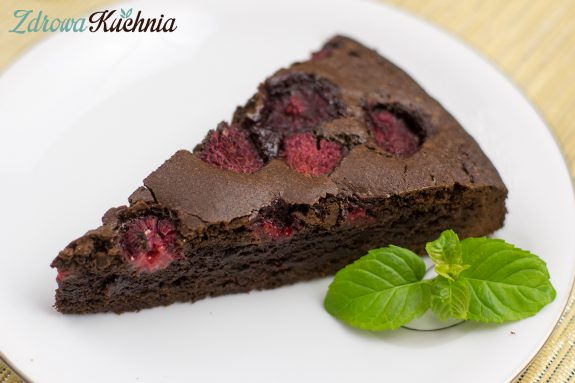 Brownies zmalinami