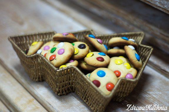 Ciasteczka zlentilkami