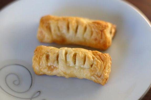 Ciastka francuskie zjabłkami