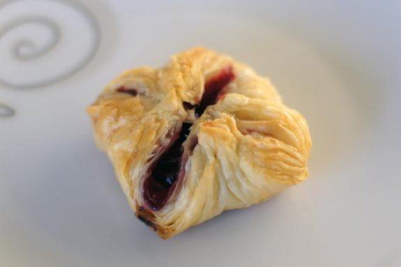 Ciastka francuskie zwiśniami