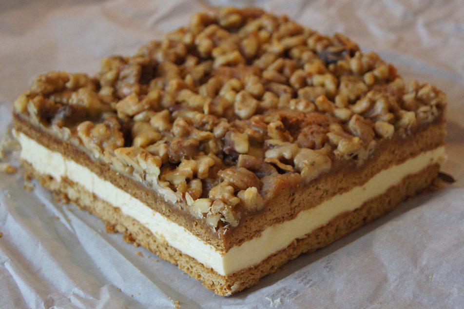 Ciasto orzechowe – Snickers