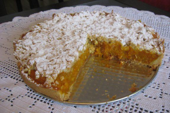 Ciasto zdynią ijabłkami