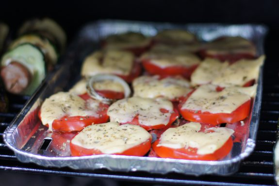 Grillowane pomidory zserem