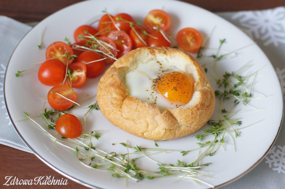 Jajka wbułce
