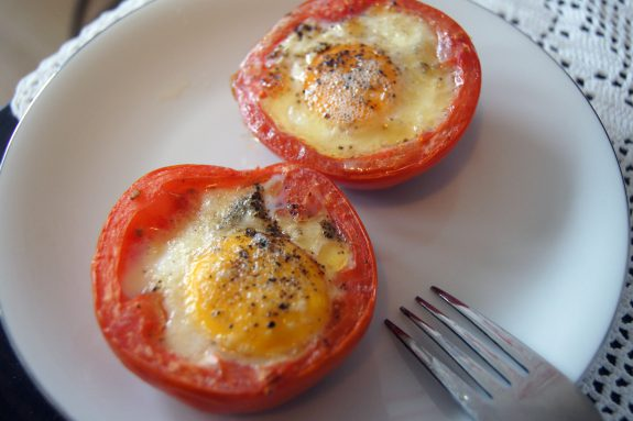 Jajka wpomidorach