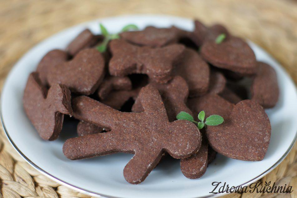 Kruche ciasteczka kakaowe