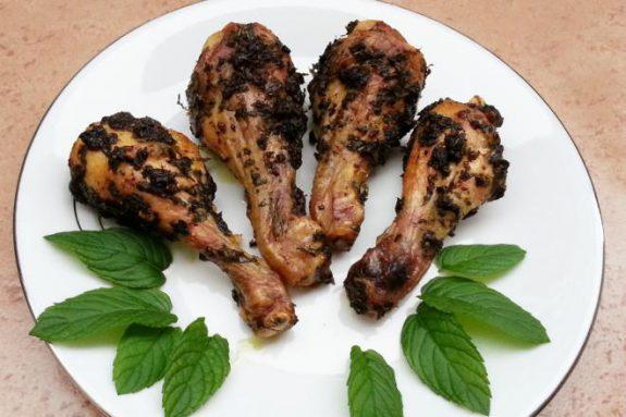 Kurczak zmiętą