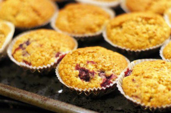 Muffinki zmalinami