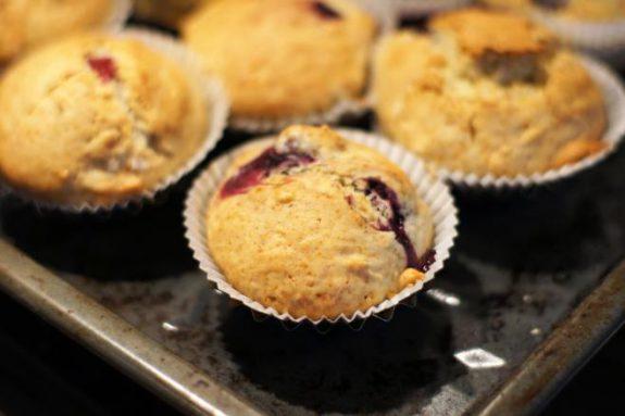 Muffinki zwiśniami