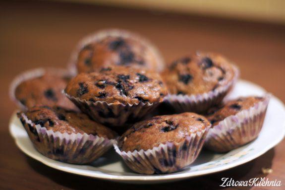 Muffiny kakaowe zmichałkami ijagodami
