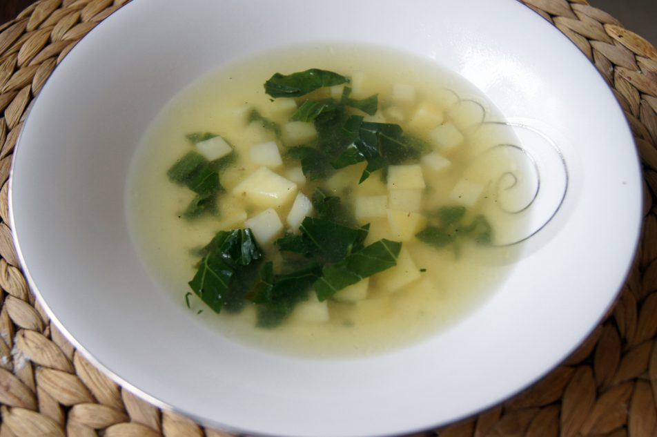 Oberiba – zupa zkalarepy