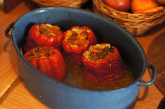 Papryka faszerowana mięsem ipieczarkami