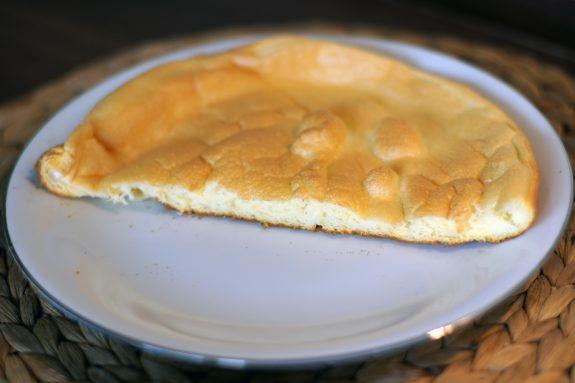 Puszysty omlet zpiekarnika