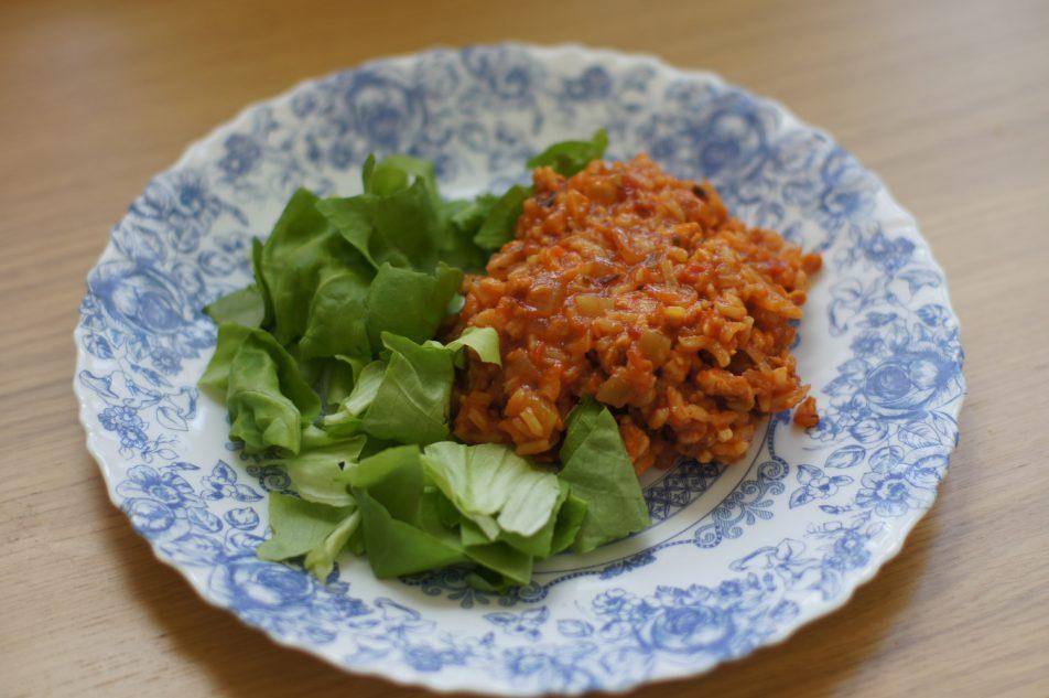 Ryż zpomidorami ikurczakiem