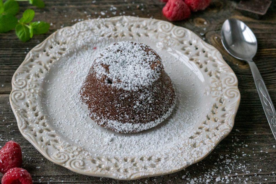 Fontant czekoladowy (Lava cake)